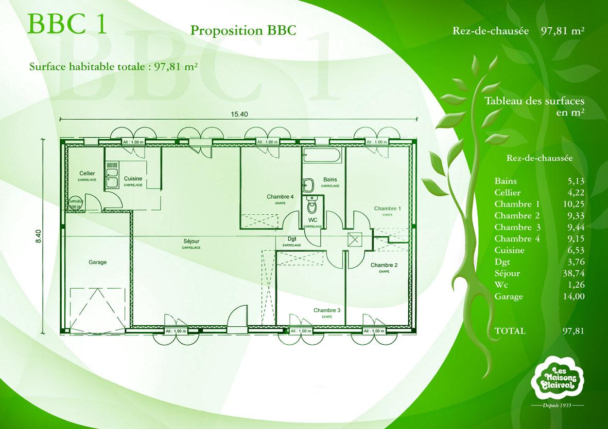 Plan De Maison Bbc Trecobat | Ventana Blog