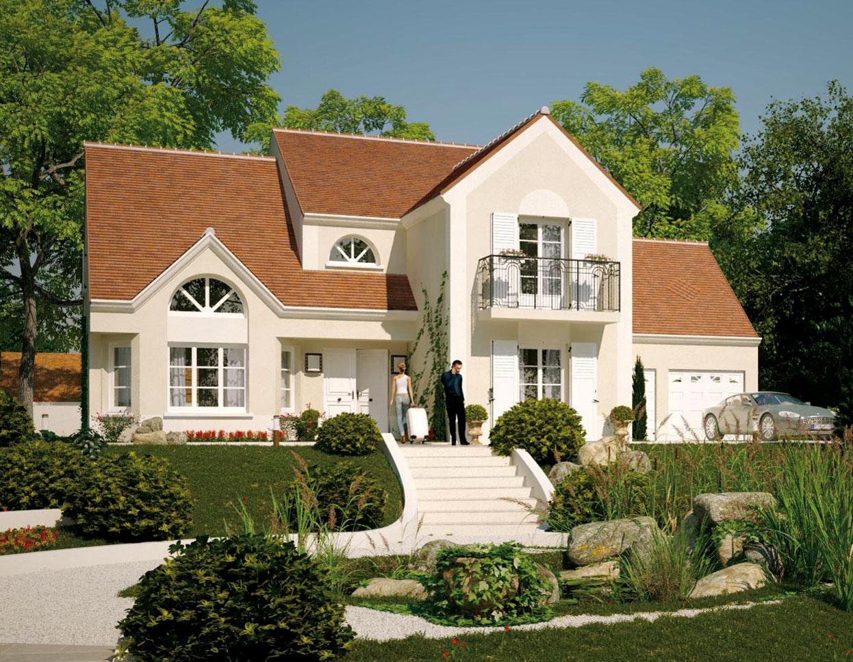Modele de maison a construire moderne - vvivante