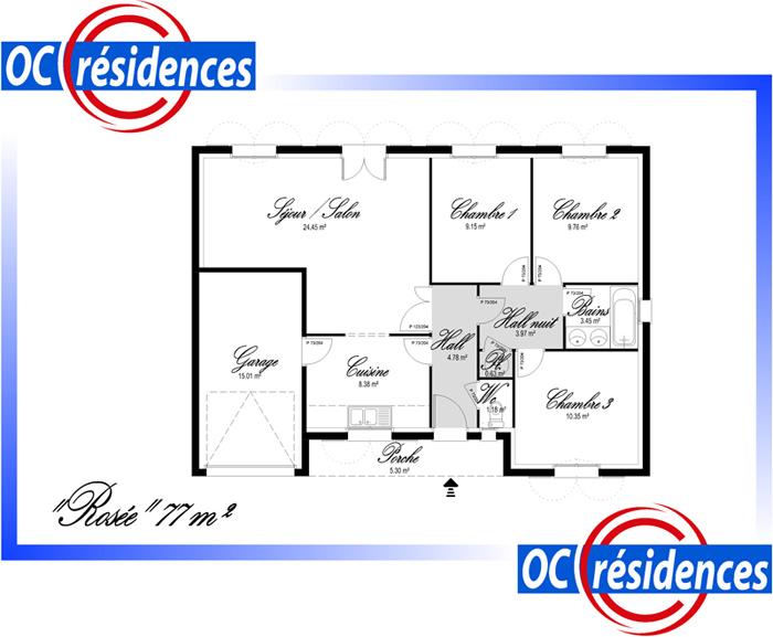 Modèle et plans: Rosee du constructeur OC Residences