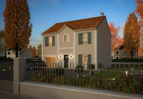 Mod le et plans mdf lys du constructeur maisons d 39 en for Maison d en france ile de france