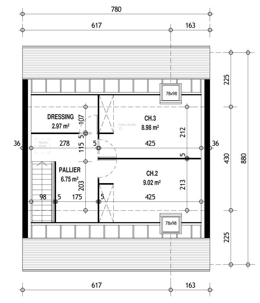 Constructeur De Maison Chartres modèle et plans: chartres 3.082 du constructeur habitat parcoeur